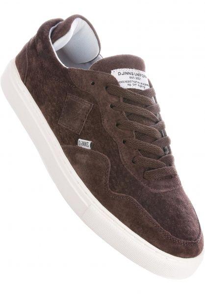 Djinns Alle Schuhe Awaike Suede darkbrown vorderansicht 0604433