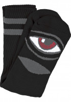 Toy-Machine Socken Sect-Eye-III black Vorderansicht