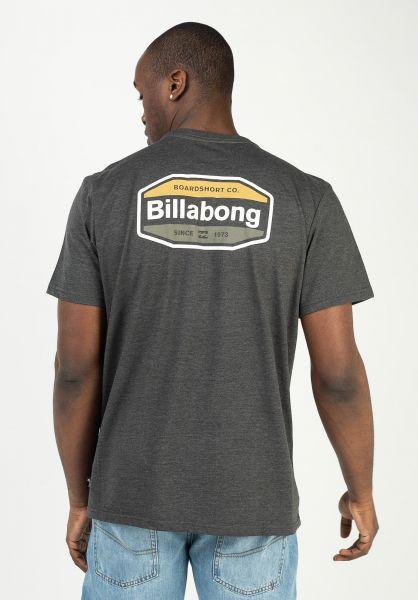 Billabong T-Shirts Gold Coast black vorderansicht 0323767