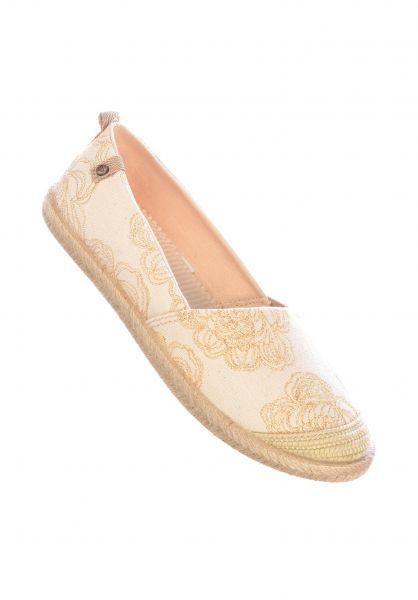 Roxy Alle Schuhe Flora II cream vorderansicht 0612441