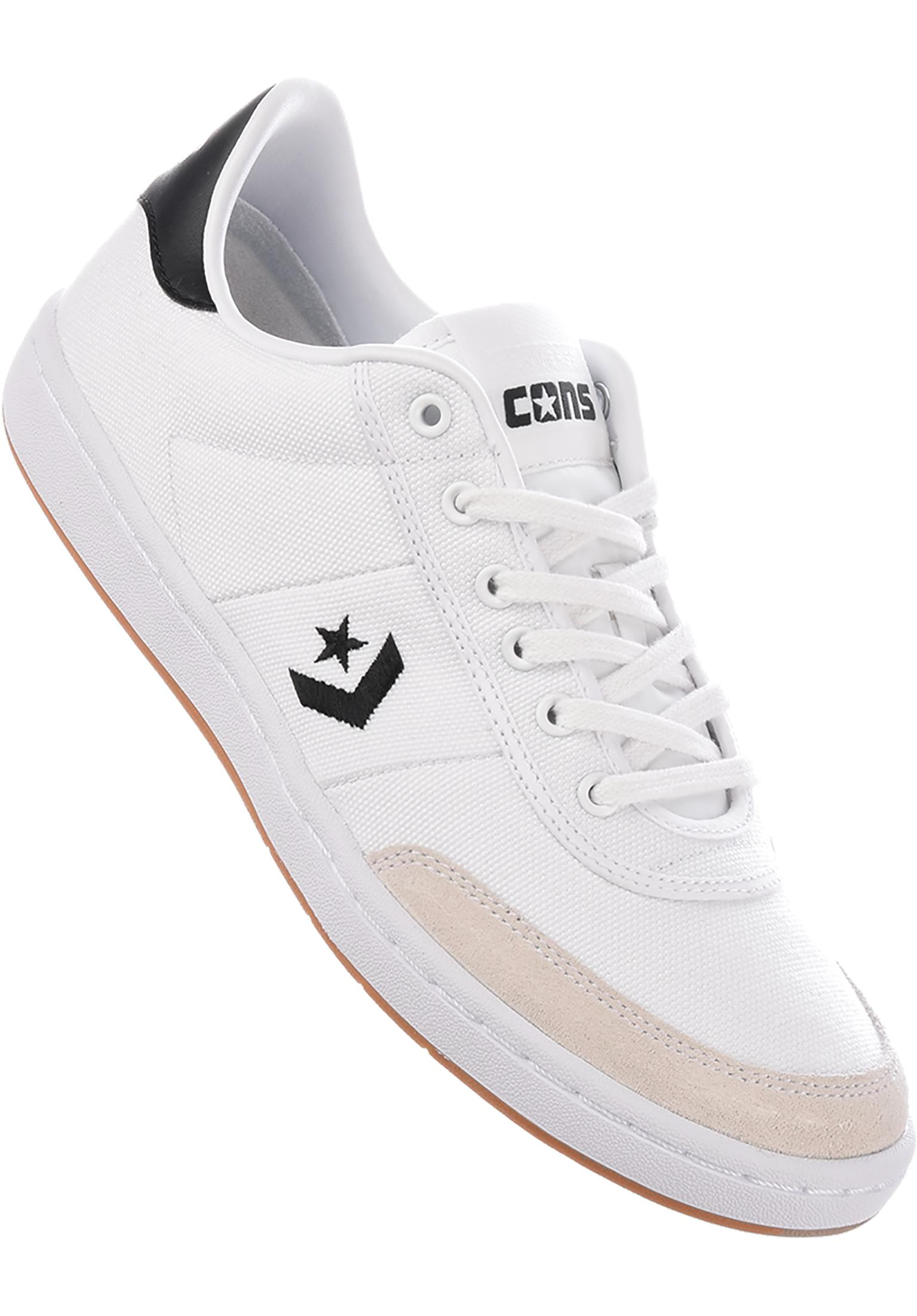 6ee9ffa57b4a ... italy barcelona pro converse cons all shoes in white black white for  men titus 5e0cd 6048f