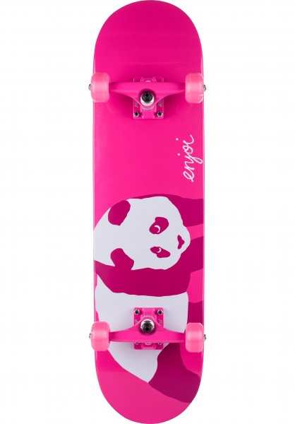 Enjoi Skateboard komplett Hi My Name Is Pinky pink Vorderansicht