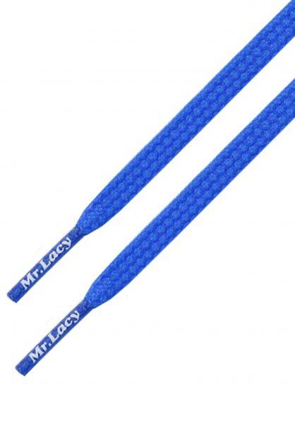 Mr. Lacy Schnürsenkel Goalies royal-blue vorderansicht 0640027