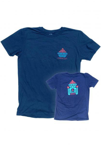 Darkroom T-Shirts Triclops Rx navy vorderansicht 0322103