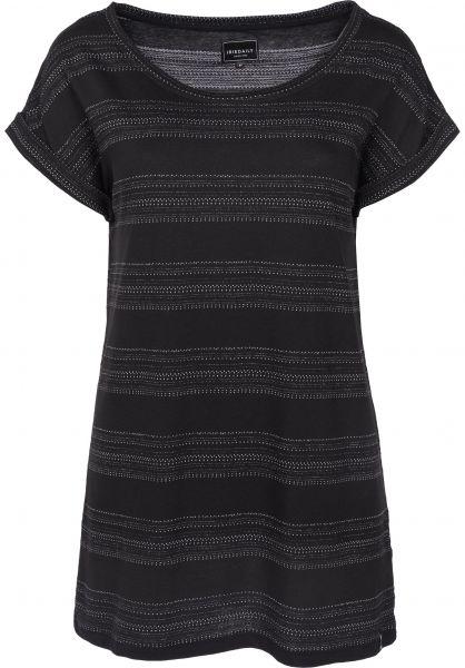 iriedaily T-Shirts Neila black Vorderansicht