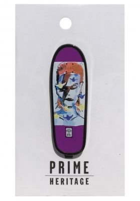 Prime Mark Gonzales Bowie Board Lapel Pin