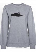 Atticus Sweatshirts und Pullover Staple heathergrey Vorderansicht