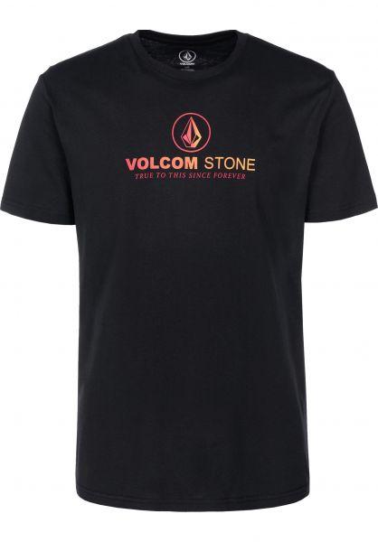 Volcom T-Shirts Super Clean black vorderansicht 0399829