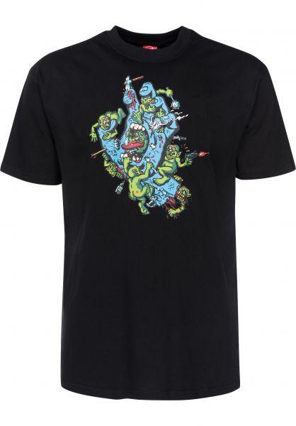 Santa-Cruz T-Shirts Gremlin black Vorderansicht