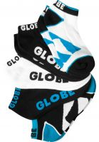 Globe Socken Destroyer Ankle 5 Pack black Vorderansicht