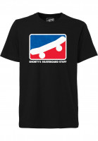 Shortys-T-Shirts-Skate-Icon-black-Vorderansicht
