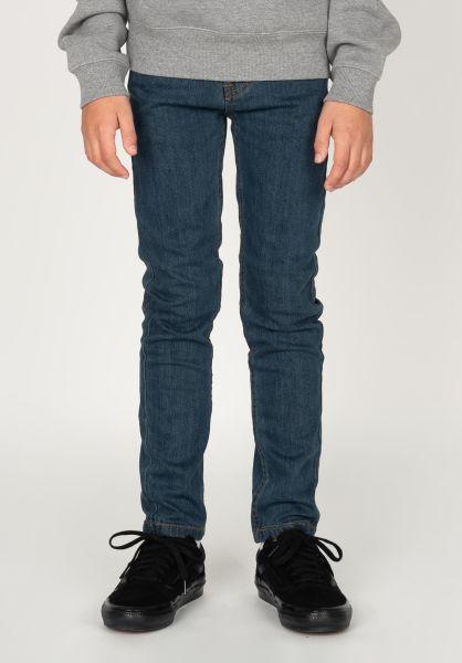 TITUS Hosen und Jeans Tube Fit Kids rawblue-denim vorderansicht 0540901