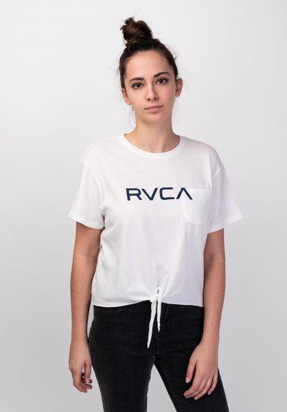 RVCA T-Shirts Big RVCA whisperwhite vorderansicht 0398939