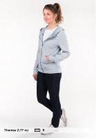 TITUS-Zip-Hoodies-Abby-greyish-blue-Rueckenansicht