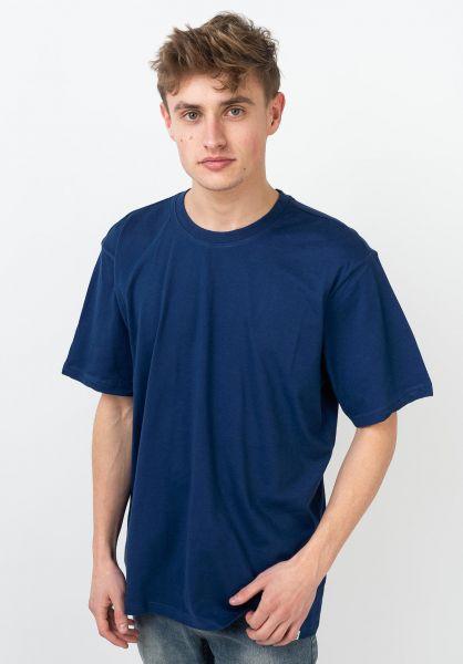 Element T-Shirts Basic Crew bluedepths vorderansicht 0379152