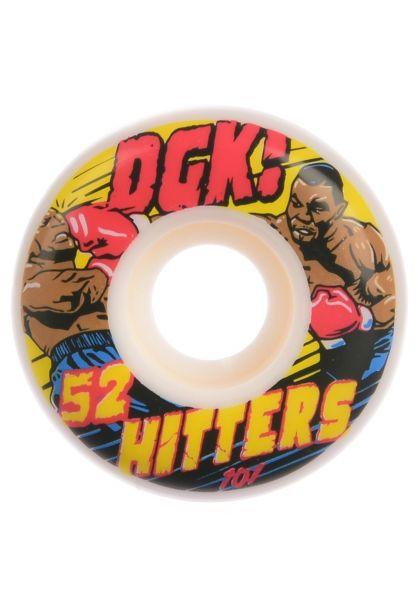 DGK Rollen Hitters white vorderansicht 0134482