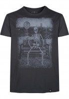 Dirty Velvet T-Shirts Get Well Soon charcoal Vorderansicht