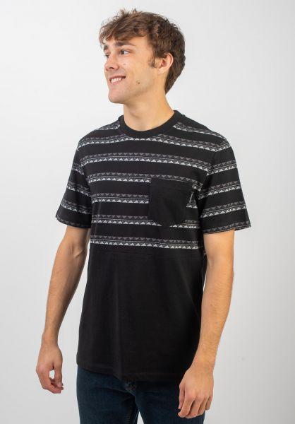 iriedaily T-Shirts Monte Noe Block black vorderansicht 0320398