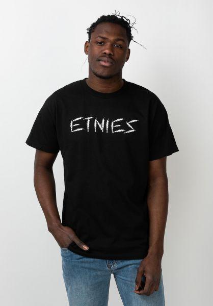 etnies T-Shirts The Joint black vorderansicht 0321220