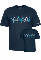Powell-Peralta T-Shirts Vato Rat Band navy Vorderansicht