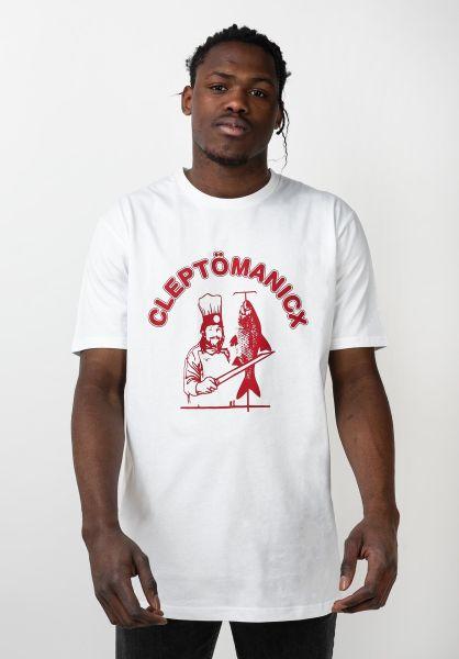 Cleptomanicx T-Shirts Dönicx white vorderansicht 0396432