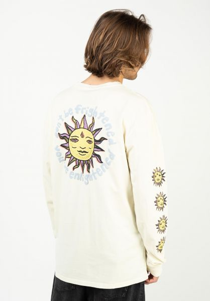 Volcom Longsleeves Ozzy Wrong offwhite vorderansicht 0384011