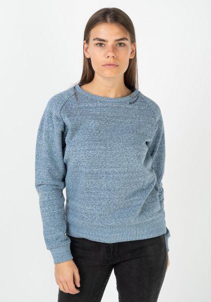 Ragwear Sweatshirts und Pullover Johanka lightblue 320 vorderansicht 0422742