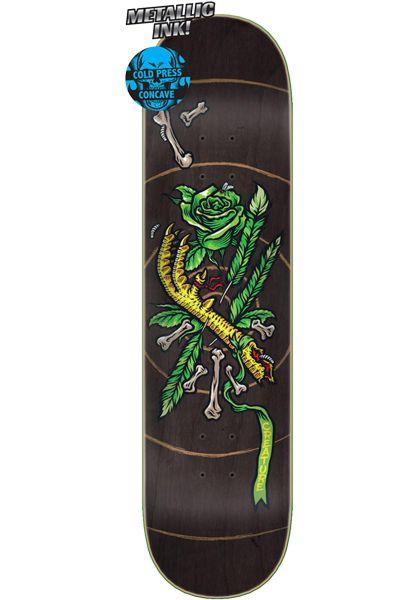Creature Skateboard Decks Talisman Coldpress black vorderansicht 0263458