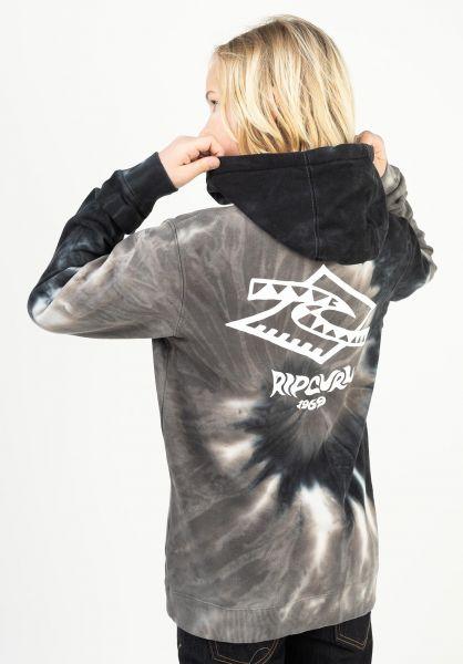 Rip Curl Hoodies Check Diamond black vorderansicht 0446442