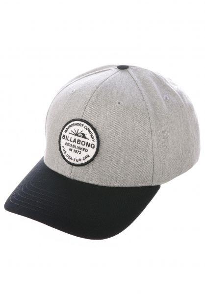 Billabong Caps Walled greyheather vorderansicht 0567016