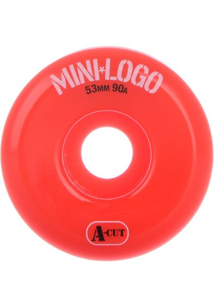 Mini-Logo Rollen A-Cut #2 Hybrid 90A red vorderansicht 0134158