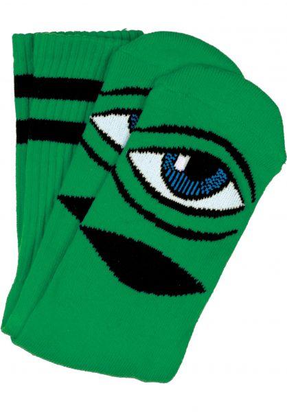Toy-Machine Socken Sect-Eye-III kelly Vorderansicht
