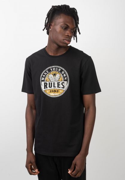 Rules T-Shirts Edion black vorderansicht 0399283