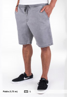 Reell Shorts Easy lightgreydenim Vorderansicht
