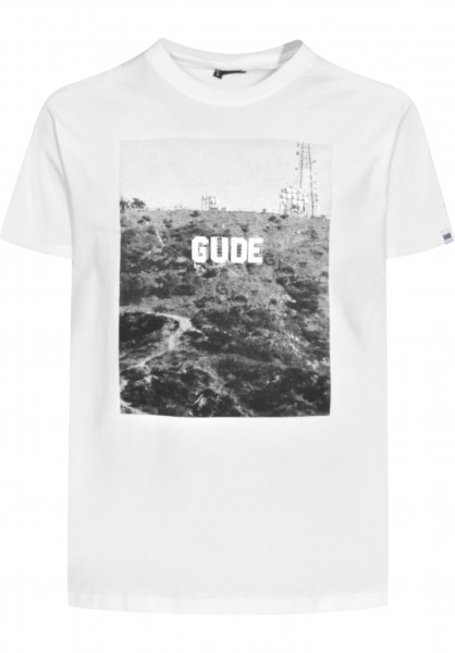 GUDE T-Shirts GUDE Hollywood white Vorderansicht