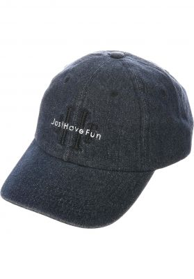 Just Have Fun Stoned Wash Denim Dad Hat