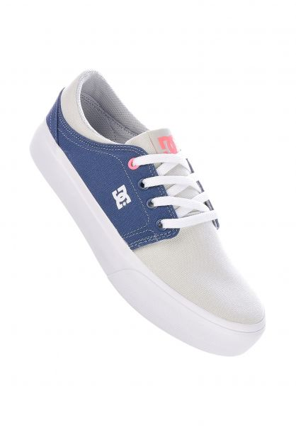 DC Shoes Alle Schuhe Trase TX blue-grey vorderansicht 0612184