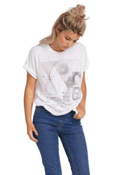 Volcom T-Shirts Breaknot white vorderansicht 0399519