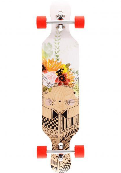 BTFL Longboards Longboards komplett Chloe multicolored vorderansicht 0194348