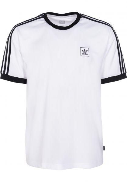 394199f7cde adidas-skateboarding T-Shirts Cali white vorderansicht 0399744