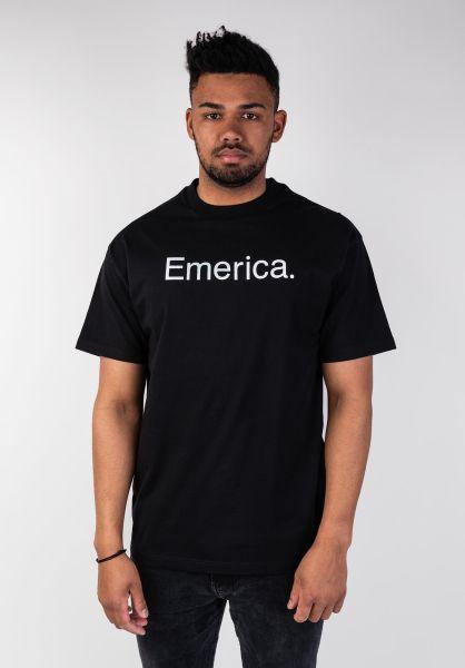 Emerica T-Shirts Pure 2019 black vorderansicht 0320010