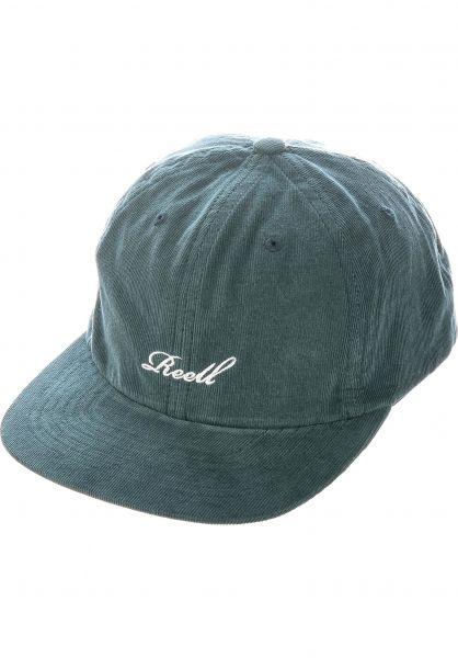 Reell Caps 6-Panel Freedom Cap darkgreen vorderansicht 0567026