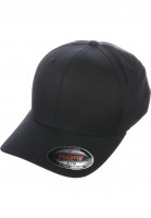 Flexfit Caps Original black-allover Vorderansicht