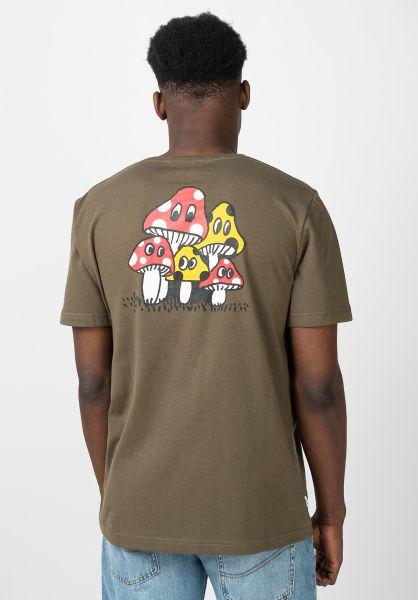Makia T-Shirts Spor green vorderansicht 0321418