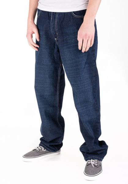 Fourasses Jeans TheFours darkblue-yellow vorderansicht 0227158