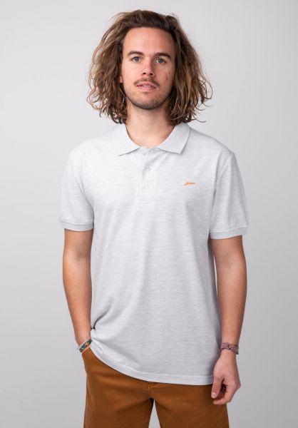 Rules Polo-Shirts Maik lightheathergrey vorderansicht 0138302