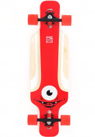 Solid Longboards komplett Eye Kids red Vorderansicht