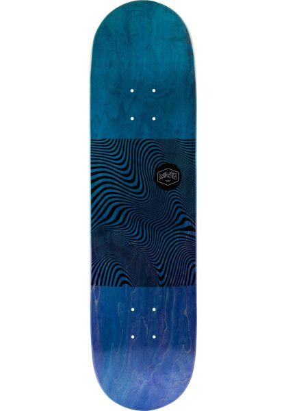 TITUS Skateboard Decks Swirl Color-Fade blue-purple vorderansicht 0260586