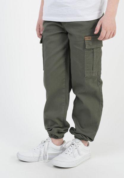 TITUS Hosen und Jeans Hybrid Kids olive vorderansicht 0520993