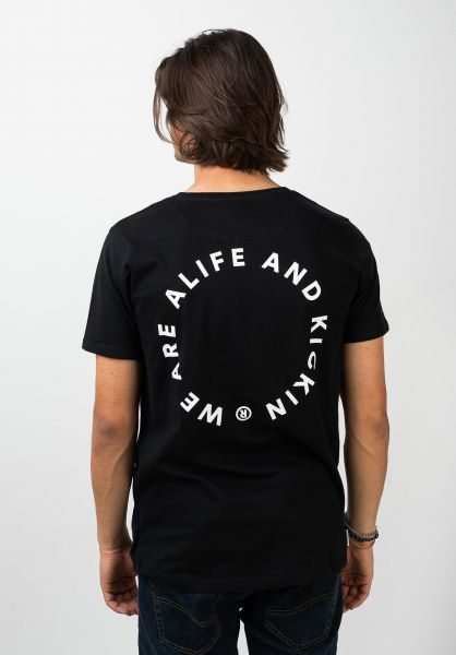 alife and kickin T-Shirts Logo Pocket moonless 120 vorderansicht 0322162